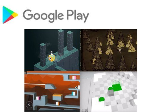 Google Play slevy