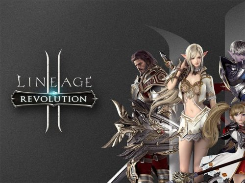 Game Lineage 2: Revolution on Android phones