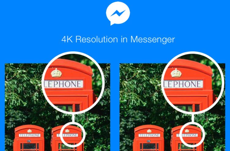 4K rozlišení s Messenger