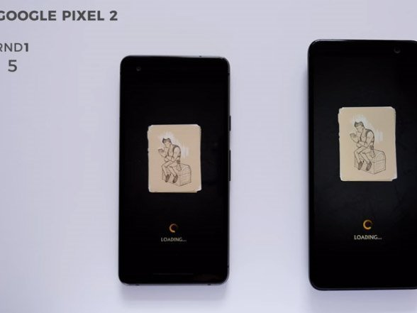HTC U11+ versus Google Pixel 2