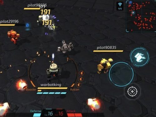 warbot.io android multiplayer game