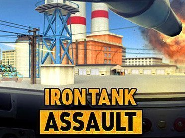 Iron Tank Assault hra na mobil
