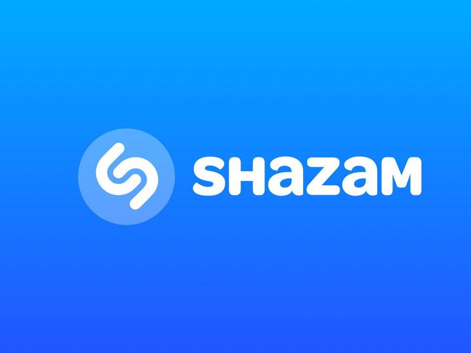 Shazam aplikace