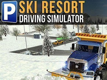 Android hra Ski resort: Driving simulator