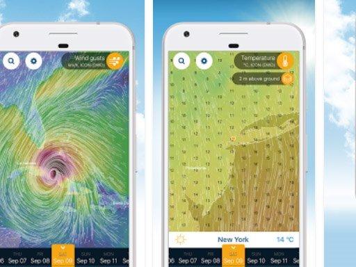 Aplikace Ventusky: Počasí na mapách   nastroje a pomucky android novinky aplikace