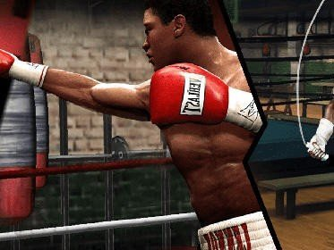 Hra na mobil Boxing fight: Real fist