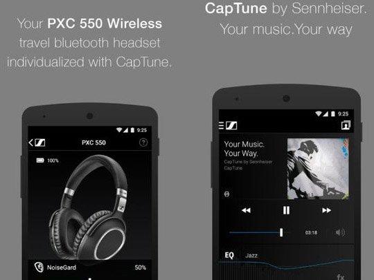 CapTune aplikace