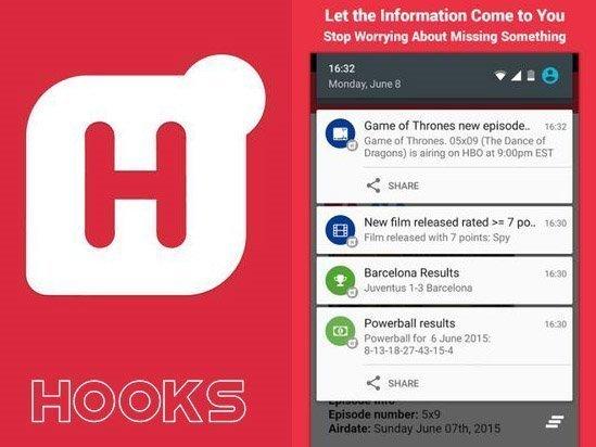 Hooks - Alerts & notifications