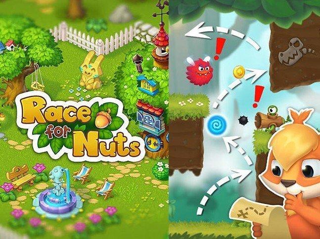Hra ke stažení Race for nuts 2