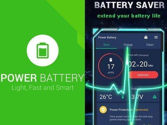 Power Battery aplikace na mobil