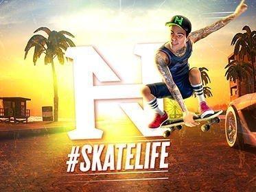 Nyjah Huston: #Skatelife