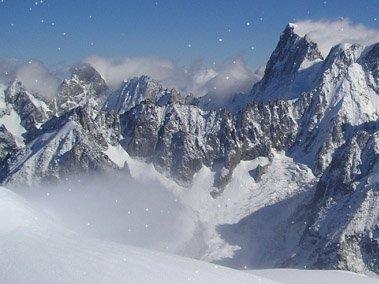 Tapety zimní krajiny