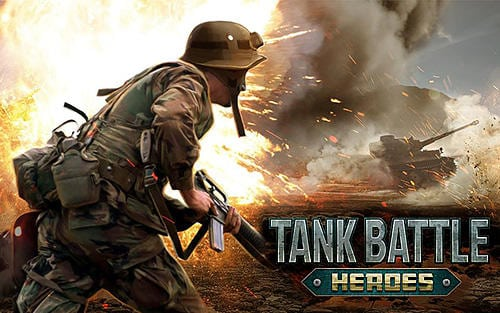 Tank battle heroes game on mobile