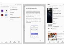 Aplikace Samsung Internet Browser v6.4