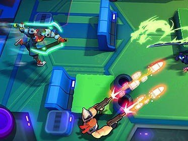 Blast squad game on mobile android