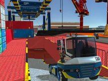Hra Cargo crew: Port truck driver