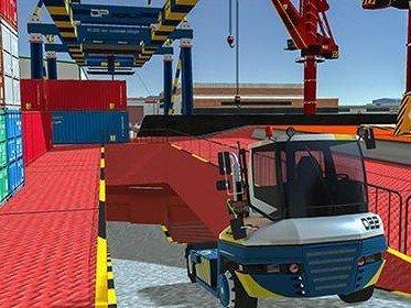 Cargo Crew: Port Truck Driver Races