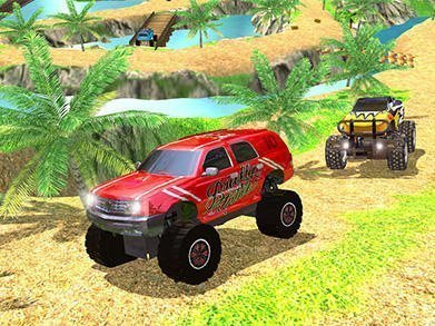 Offroad Grand Monster Truck Hill Drive hra