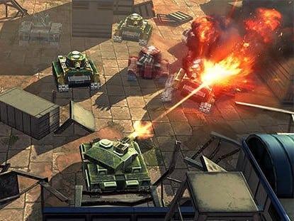 Tank Heroes web
