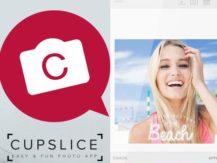 Aplikace Cupslice Photo Editor
