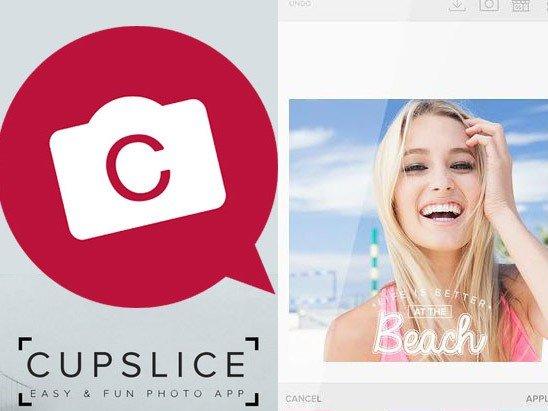 Aplikace ke stažení Cupslice photo editor