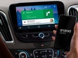 Android auto s aktualizovaným launcherem
