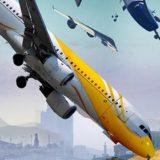 Hra Euro flight simulator 2018