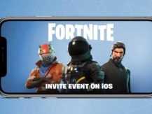 Play Fortnite on your mobile phone as well