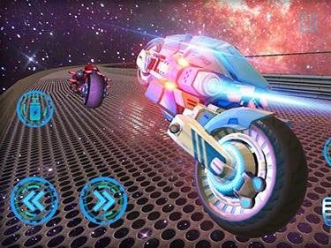 Space bike galaxy race hra ke stažení