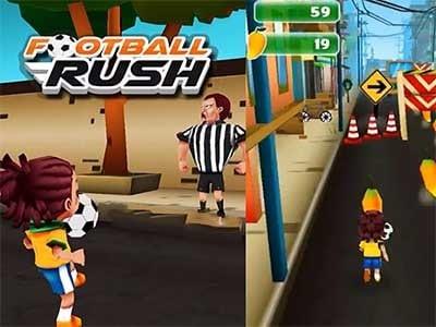 Football Rush: Running Kid