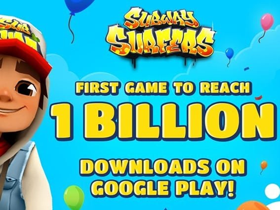 Subway Surfers is the first game to reach 1 billion download news