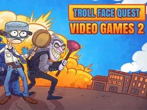 Troll face quest: Video games 2 hra