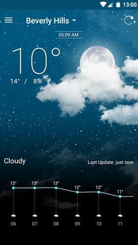 Aplikace Weather Wiz   pocasi android androidaplikace