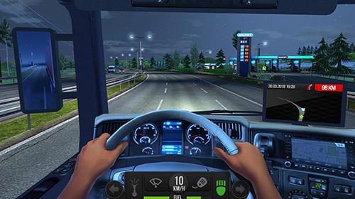 Hra Truck simulator 2018: Europe   zabavne hry androidhry