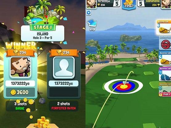 Golf rival hra ke stažení na mobil