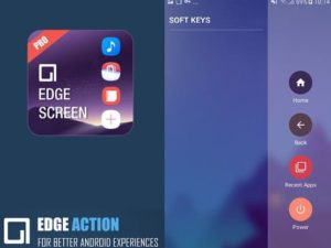 Edge screen aplikace