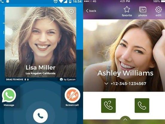 Caller ID, Calls, Dialer & Contacts Book: Eyecon