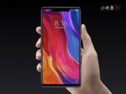 Xiaomi prodalo šest miliónu Mi 8 telefonu během 4 měsíců