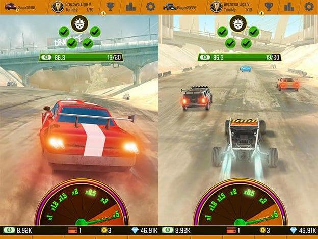 Hra Car racing clicker