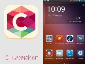 C Launcher aplikace