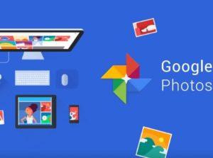Google fotografie aplikace