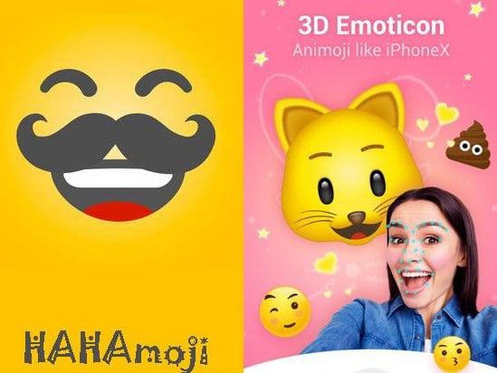 HAHAmoji - Animated face emoji GIF