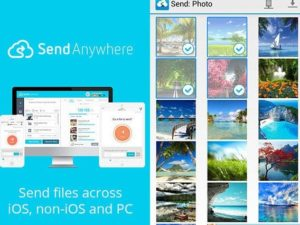 Send anywhere: File transfer
