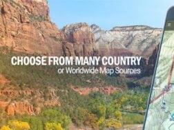 Aplikace Back Country Navigator