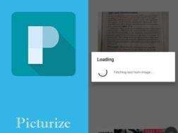 Aplikace Picturize - Auto Note Taker