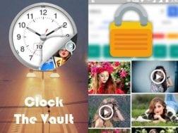 Aplikace zabezpečení Clock - The Vault