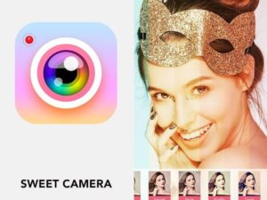 Sweet camera - Selfie filters, beauty camera