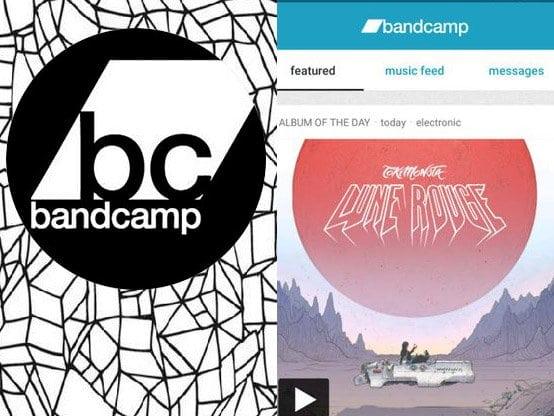 Bandcamp aplikace