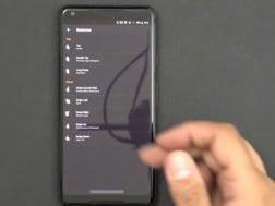 Aplikace Navigation Gestures