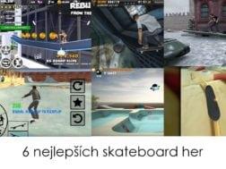 6 nejlepších skateboardových her na Androidu